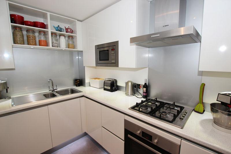 Kitchen cooking zone decor ideas