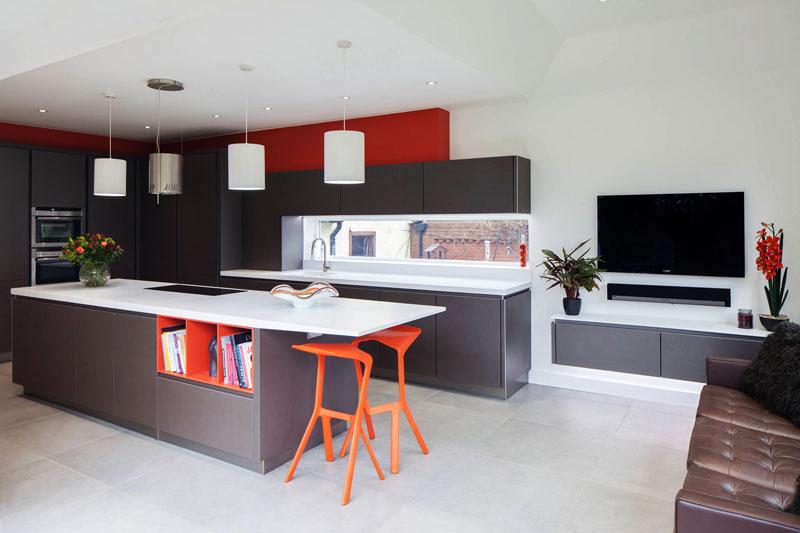 Kitchen work zone decor ideas