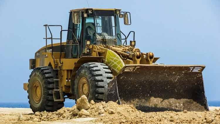 Gambar bulldozer alat berat