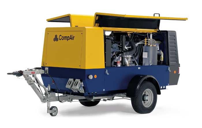 compressor alat berat