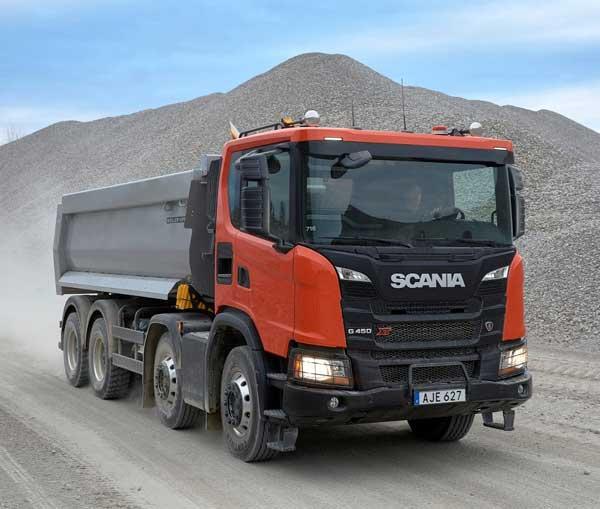dump truck scania