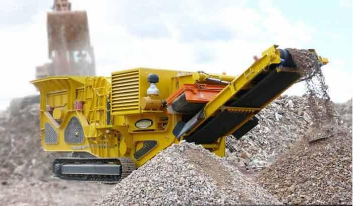 Mesin batu atau Stone Crusher