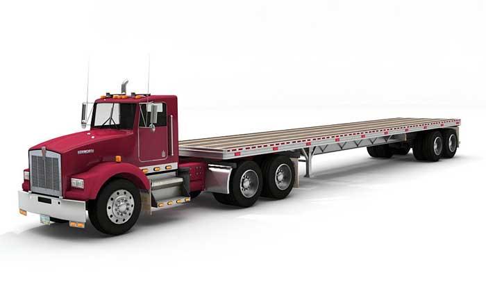 Gambar trailer truk